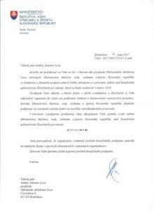 Minister školstva SR Peter Plavčan prevzal záštitu nad 4.ročníkom benefičného galavečera Štvorlístok pre talenty