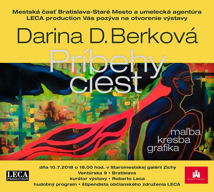 Pozvánka - Vernisáž výstavy Dariny Berkovej, by LECA