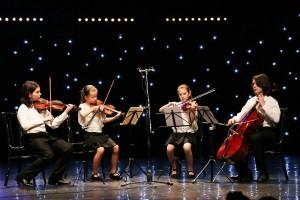 23. Štipendisti súrodenci Petrášovci nádherne a s citom zahrali Malú nočnú hudbu od W.A.Mozarta