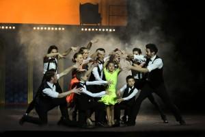 9. úžasné tanečné schopnosti predviedli najmenší štipendisti o.z. LECA spolu s profesionálmi so skupiny CreDance