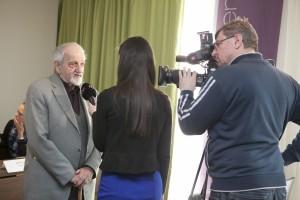 Tlačová konferencia k filmu Ľudská tvár /Bratislava, 21.3.2016/
