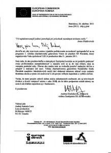 Referencia pre LECA production od Európskej komisie na Slovensku