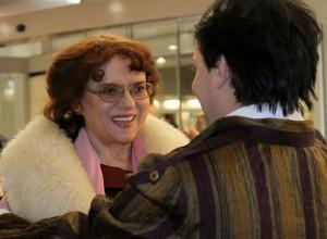 3. Medzi pozvanými hosťami bola aj filmová a divadelná herečka Milka Zimková