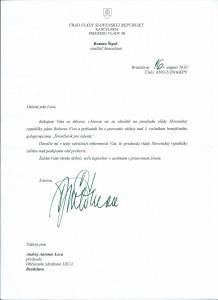 Záštita predsedu vlády SR Roberta Fica nad 3.ročníkom galavečera Štvorlístok pre talenty